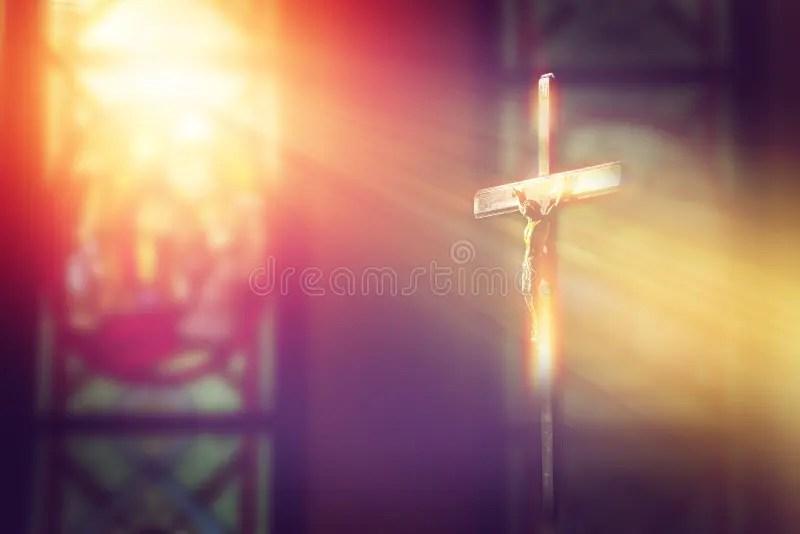 jesus cross stock images