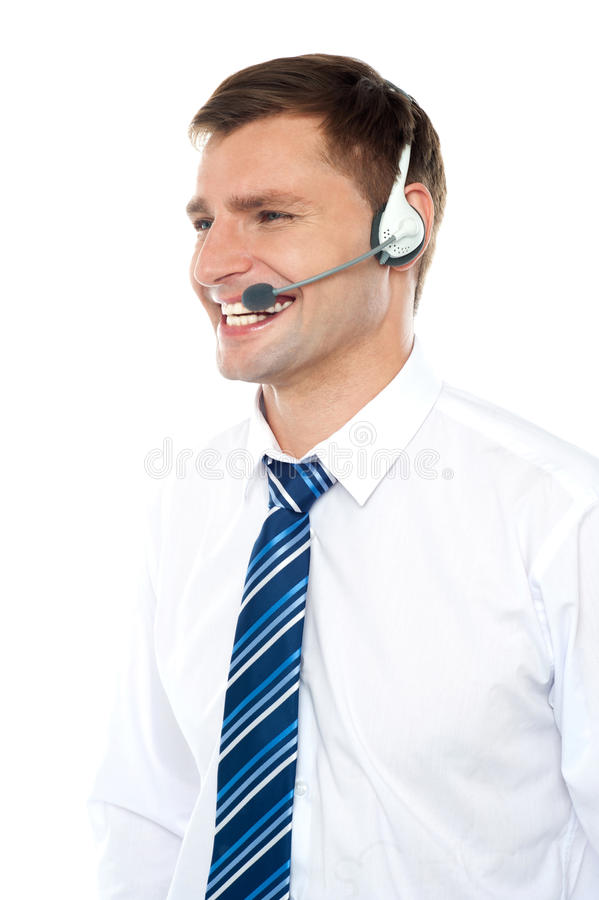 Customer Support Executive Assisting Clients Stock Photo  Image 25762004