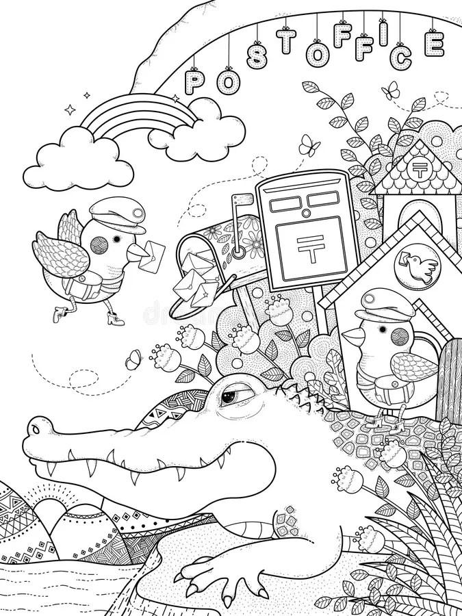 Alligator River Stock Illustrations