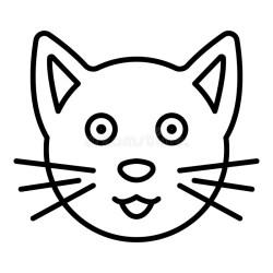 Cat Face Stock Illustrations 56 074 Cat Face Stock Illustrations Vectors & Clipart Dreamstime