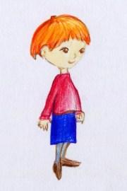 ginger hair stock illustrations