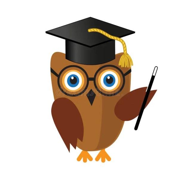 Wise Owl Clip Art Cute