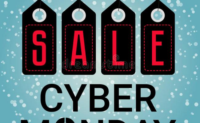 Cyber Monday Design Sales Mouse Icon Vector