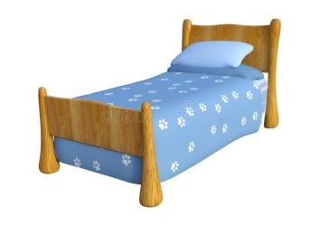 Cute Bed Clipart