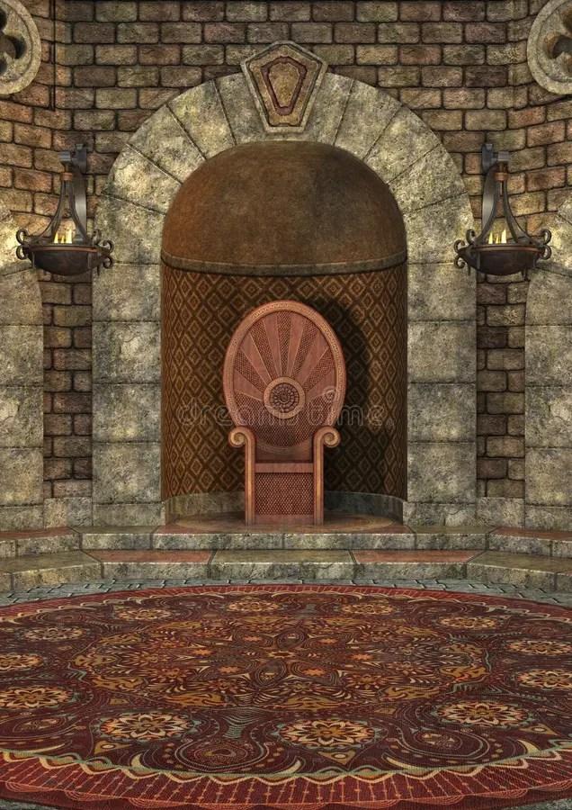 Throne Room D&d Map : throne, Rendering, Throne, Stock, Illustration., Illustration, 70554873