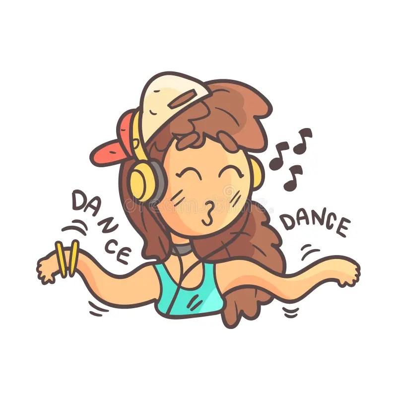 dance emoji stock illustrations