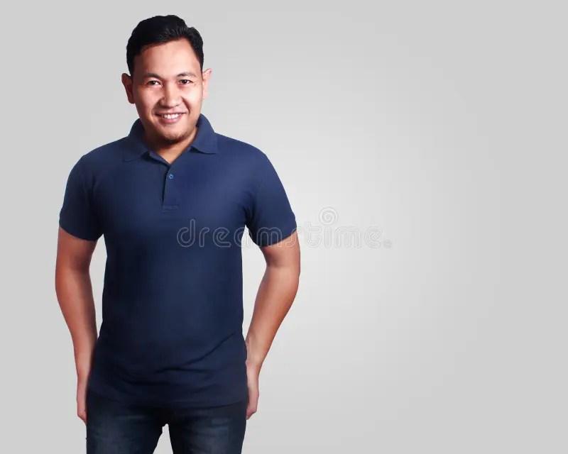 Mockup de blusa polo por mim criado.neste mockup se encontra: Dark Blue Polo Shirt Mockup Template Stock Photo Image Of Adult Shirt 106128252