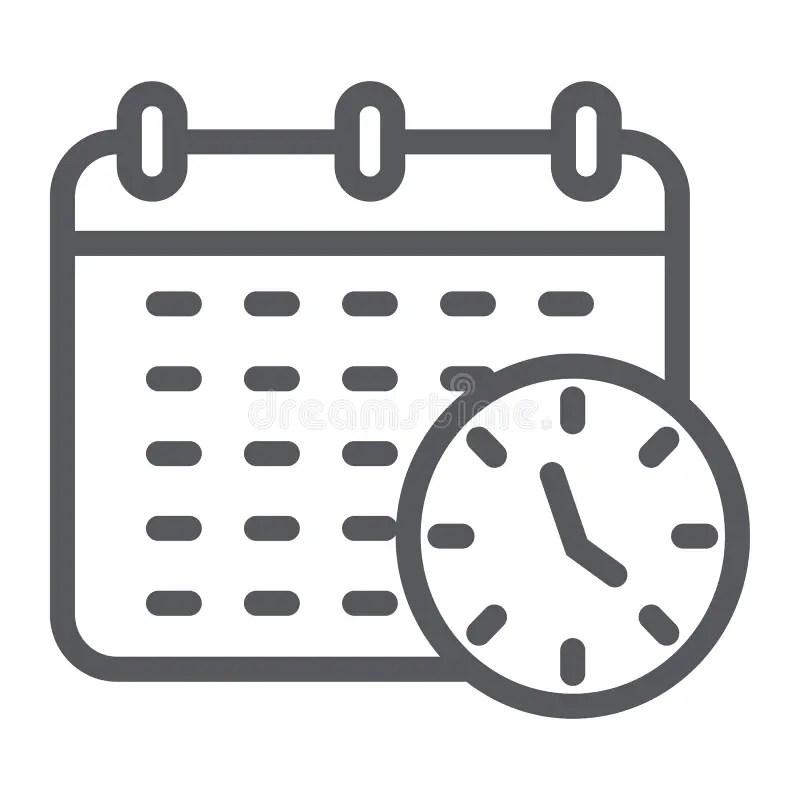 Organizer or calendar stock vector. Illustration of icon