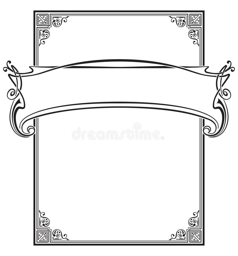 Award Banner Decorative Stock Illustrations