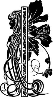 decorative element in art nouveau