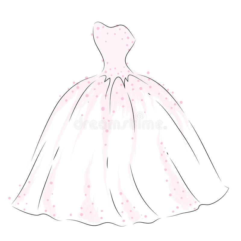 Drawn Bride Long Gown