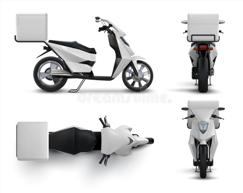 This photorealistic helmet allows you to showcase. Delivery Bike Top Stock Illustrations 176 Delivery Bike Top Stock Illustrations Vectors Clipart Dreamstime