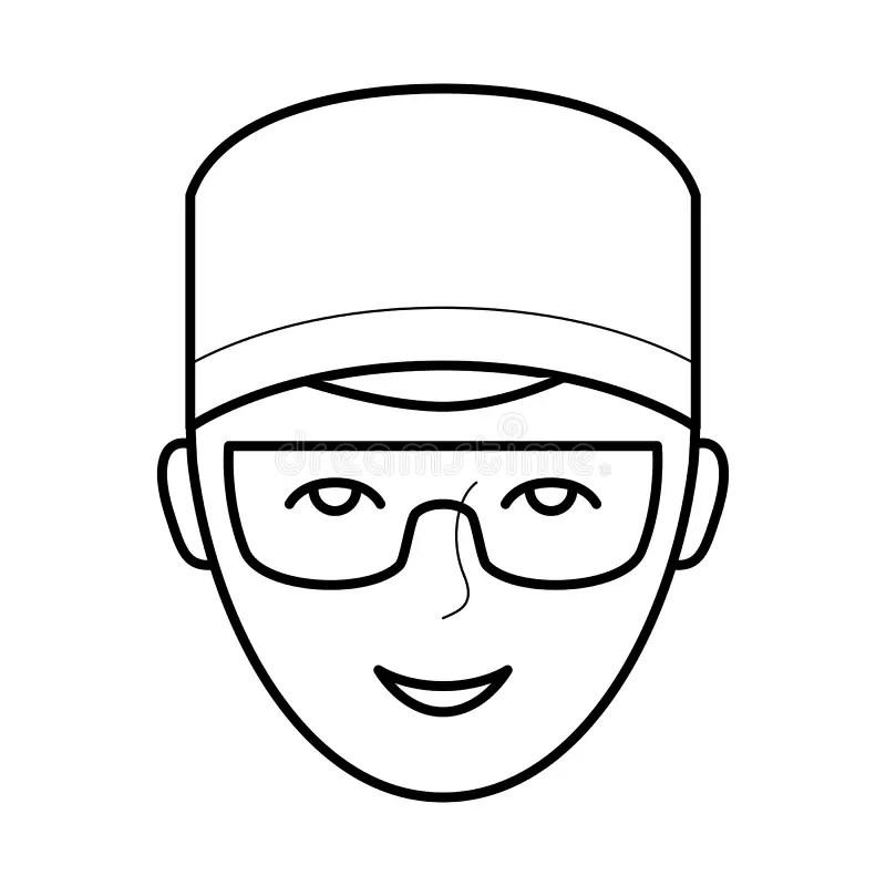 Dentist Pictogram Icon stock vector. Illustration of