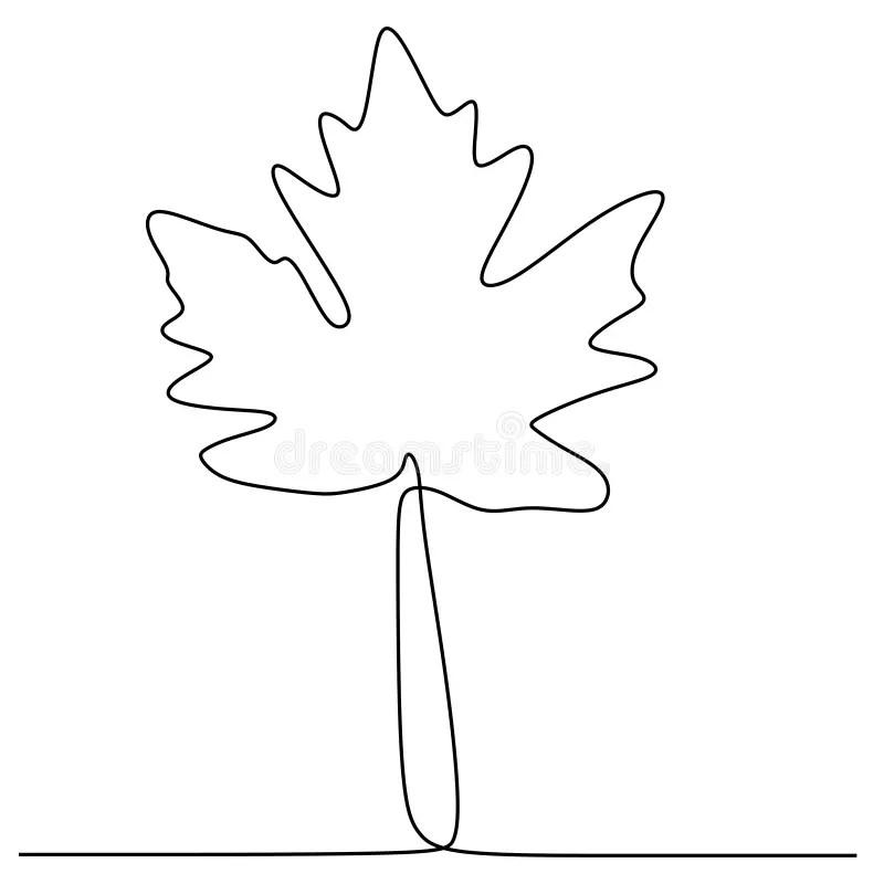 Folha De Plátano Do Desenho Da Mão Ilustração do Vetor