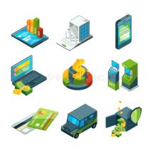 Digital Banking. Online Bank Transaction