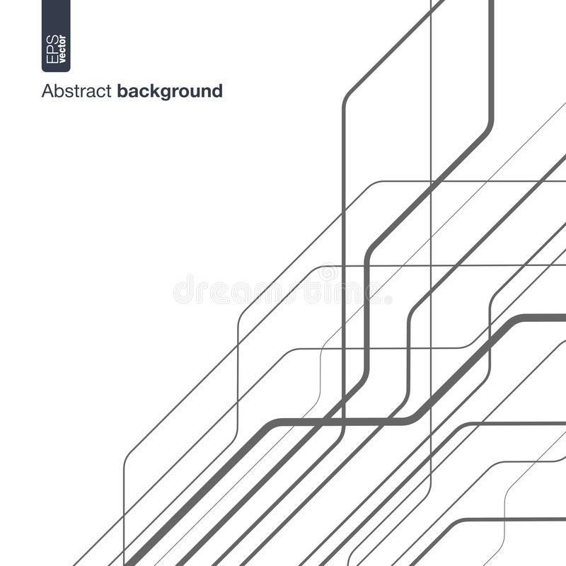 Digital Network Concept. Vector Abstract Background With