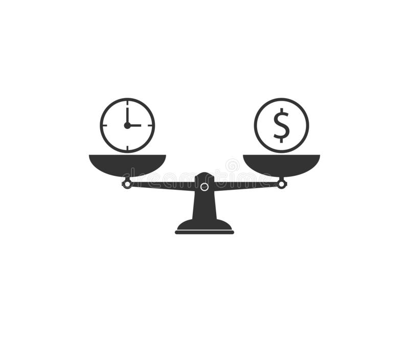 Leverage Icon Stock Illustrations