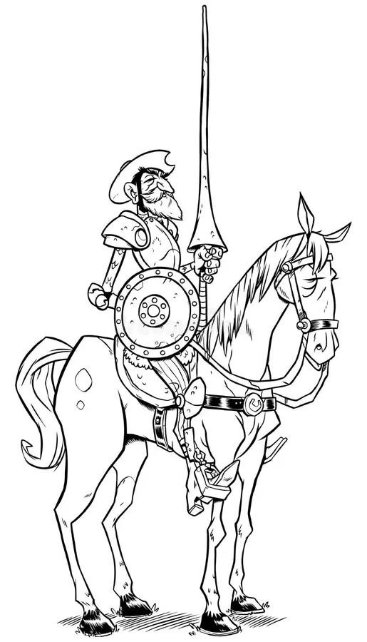 Don Quixote Stock Illustrations