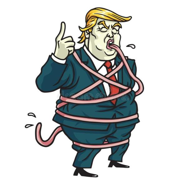 Donald Trump Cartoon Drawing