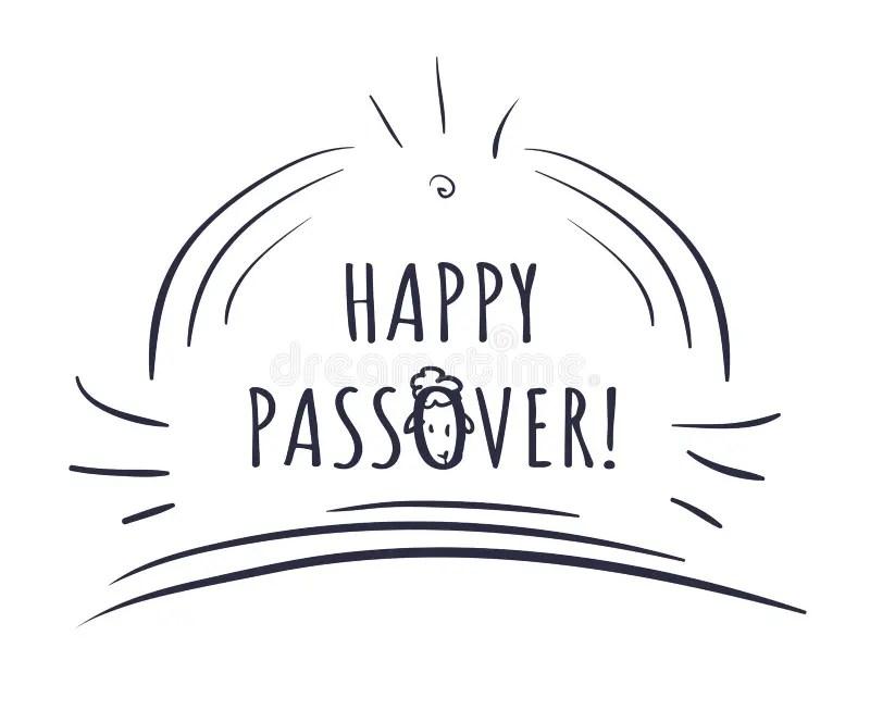 Sacrifice of Passover stock vector. Illustration of jews