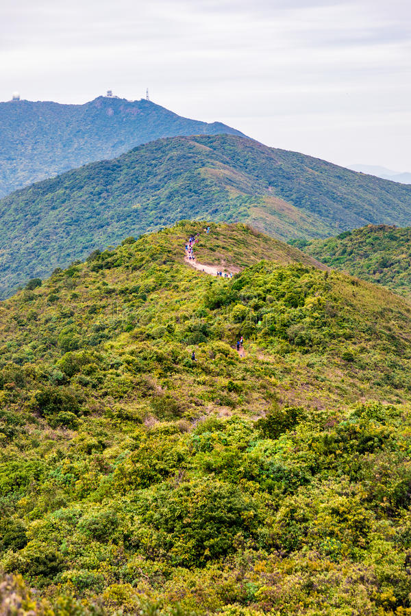 Dragon Back Trail In Hong Kong Stock Image - Image of path. outdoor: 87484845