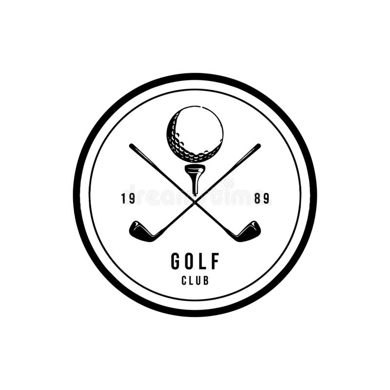 Golf Logos stock vector. Illustration of isolated, icon