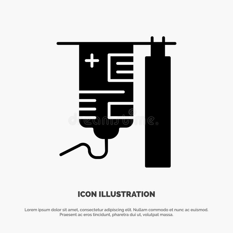 Medical, Drip, Medicine, Hospital Abstract Flat Color Icon