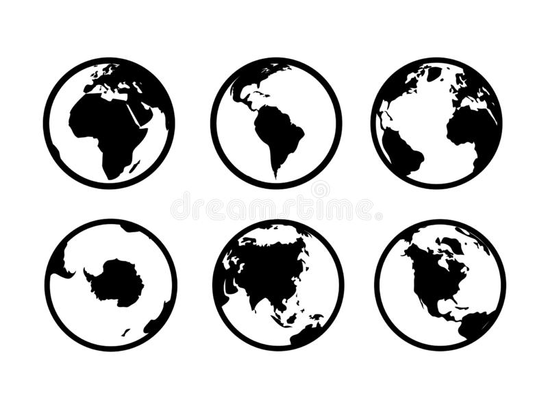 Black sea countries map stock vector. Illustration of