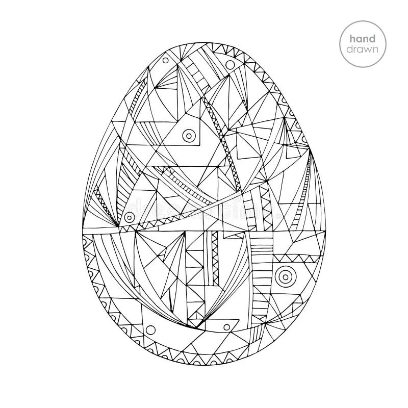 Drawn Egg Easter Egg