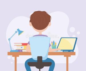 Student Typing Stock Illustrations 1 980 Student Typing Stock Illustrations Vectors & Clipart Dreamstime