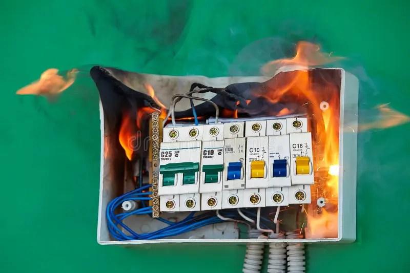 Fuse Box Fire