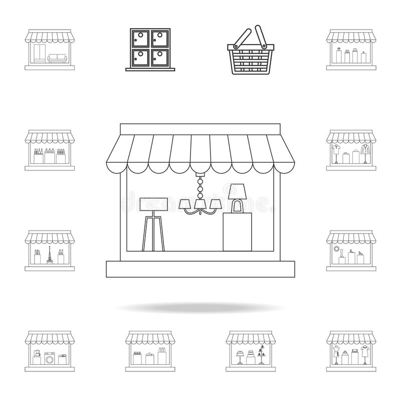 Electrical Shop Icon. Element Of Hipermarket For Mobile