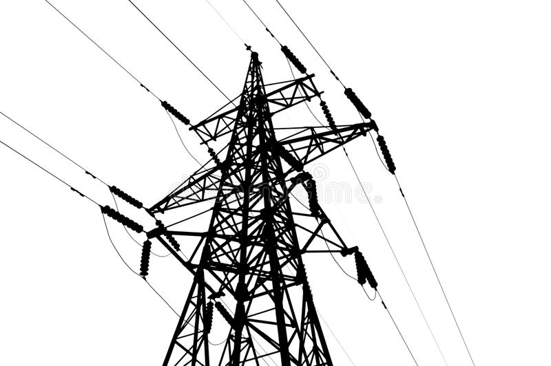 Electrical tower stock photo. Image of electricity