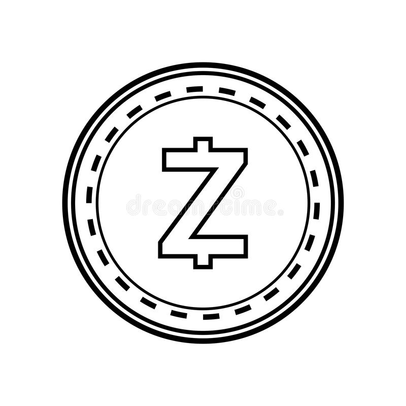 Zcash Stock Illustrations