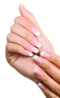 Elegant nail design stock photo. Image of fingernail ...
