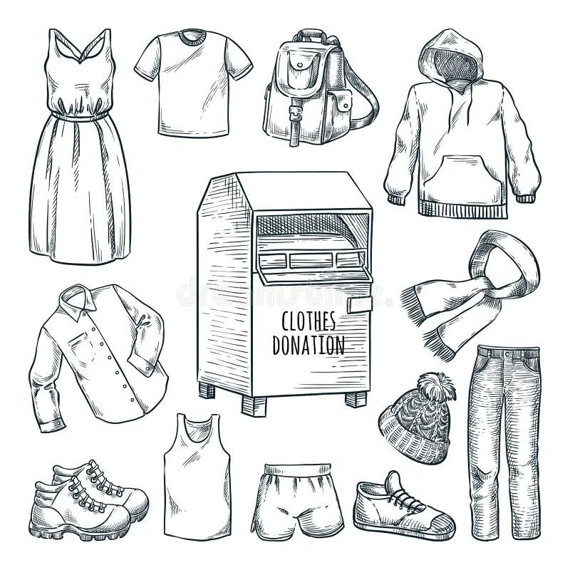 Caja De Zapatos De Esbozo Del Vector Ilustración del