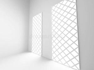 empty architecture interior render