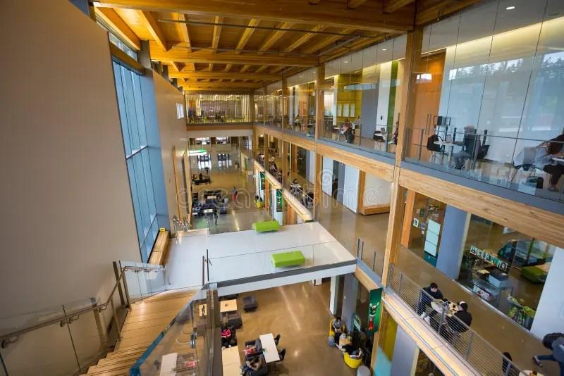 EMU Building University Of Oregon Campus Editorial Photography
