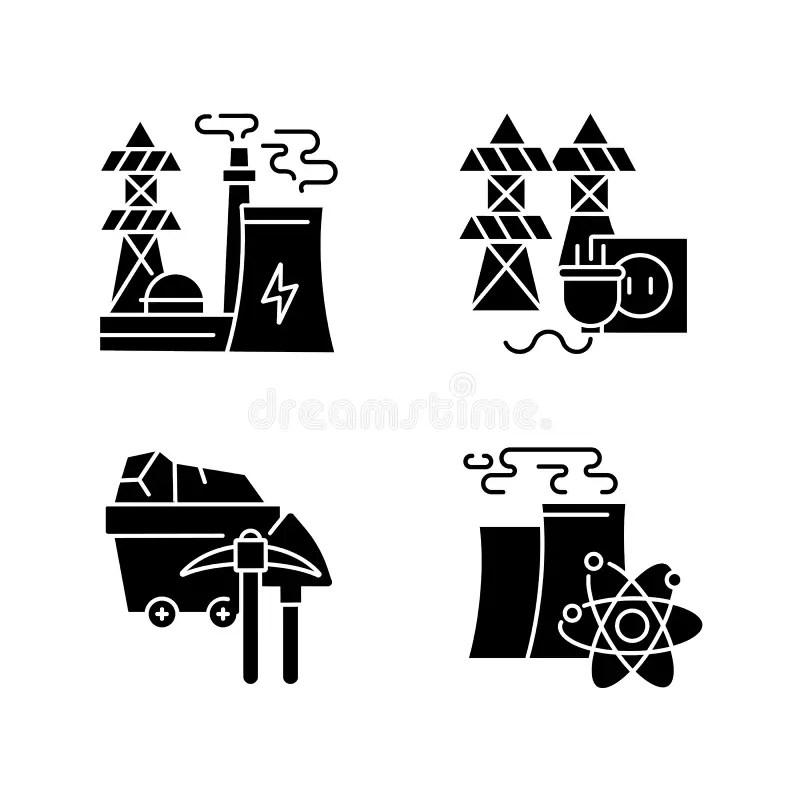Mining Plant Stock Illustrations