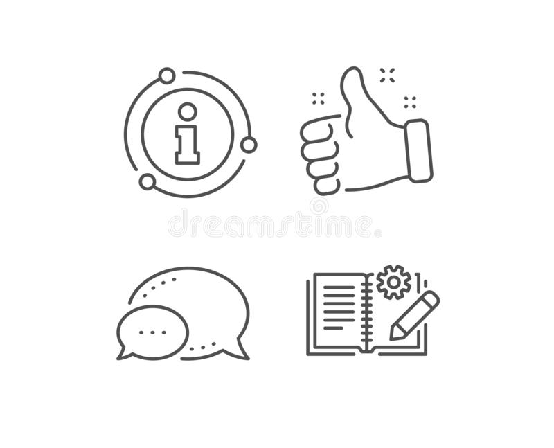 Instruction Sign Icon. Manual Book Symbol. Stock Vector