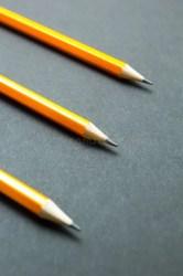 pencil engineering graphite drawing pencils vertical sharpened sharpener rubbish brown