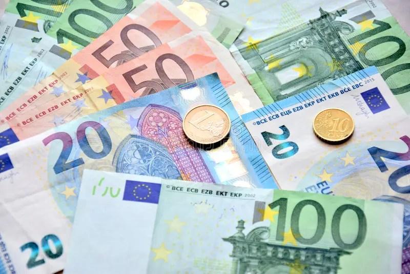 330 One Two Euros Coins Photos