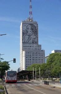 Evita Peron en Buenos Aires, la Argentina