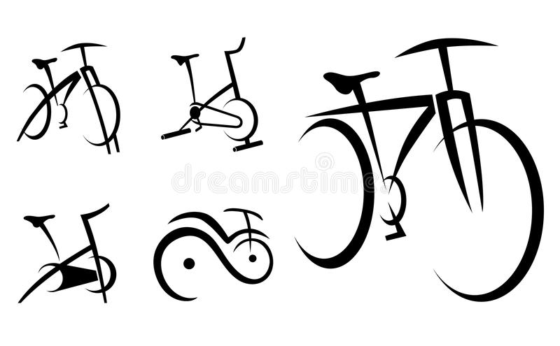 Exercise Bike, Cycle, Health Equipment Royalty Free Stock