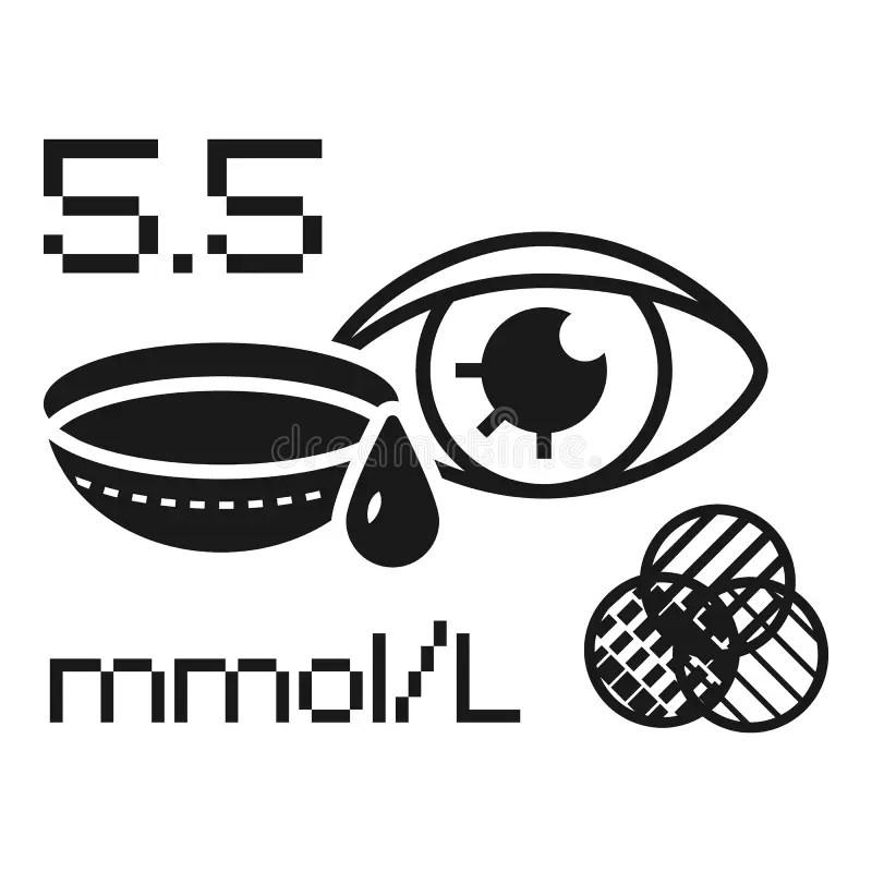 Eye test charts stock illustration. Illustration of health