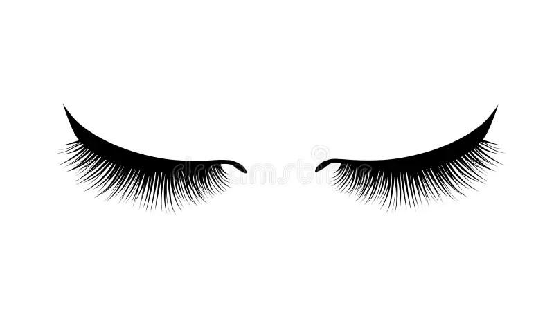 Eyelashes Stock Illustrations