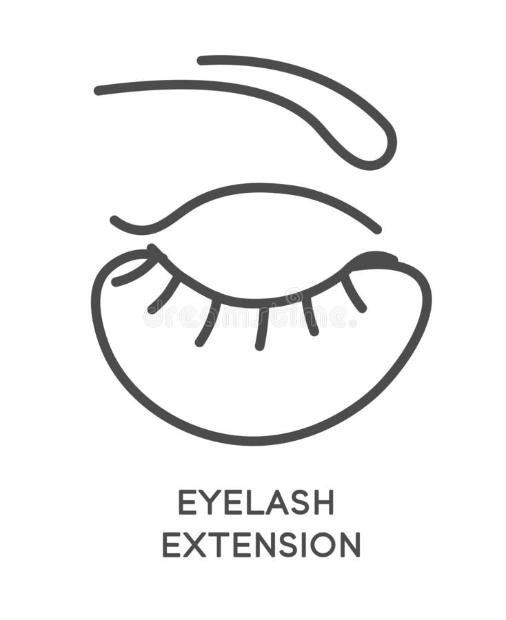 Eyelash Extension Application Tools And Supplies Set