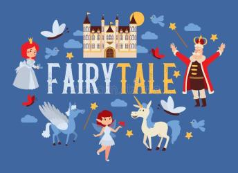 cartoon princess castle king fairytale tower vector fairy tale character kingdom castello regno kasteel prinses sprookje roi het principessa costume