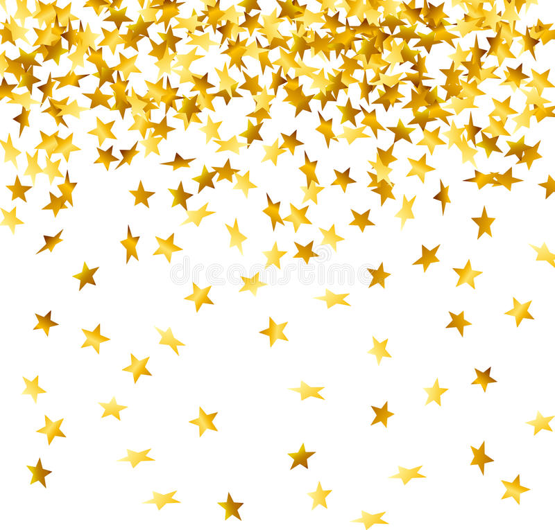 Falling Glitter Wallpaper Falling Down Confetti Stock Vector Illustration Of