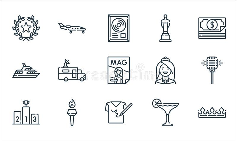 Crown Microphone Stock Illustrations